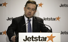 Qantas Airways CEO Alan Joyce - speaking at the announcement of Jetstar's plan to expand regional flights in New Zealand.