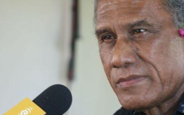 Tonga Prime Minister 'Akilisi Pohiva.