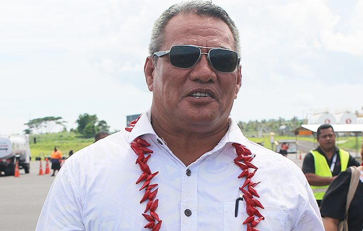 Samoa's Sports Minister, Loau Keneti Sio.