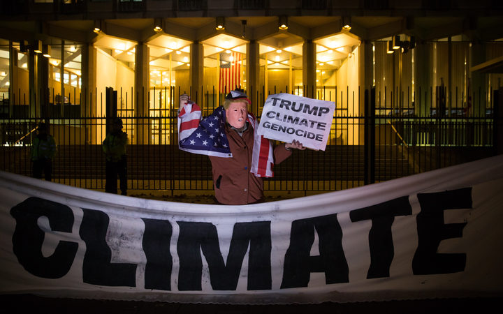 "A UN climate conference on November 18 appealed to the ""pragmatism"" of president-elect Donald Trump, who has threatened to pull the US out of a global pact to rein in global warming."