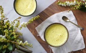 Turmeric Latte by Kelly Gibney