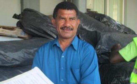 Vanuatu NDMO director Shadrack Welegtabit
