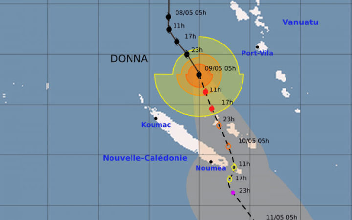 Cyclone Donna