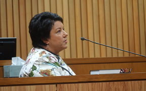 Paula Bennett took the stand in the trial of Whanganui MP Chester Borrows this morning.