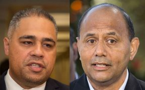 Labour MP Peeni Henare, left, and list MP Willie Jackson.