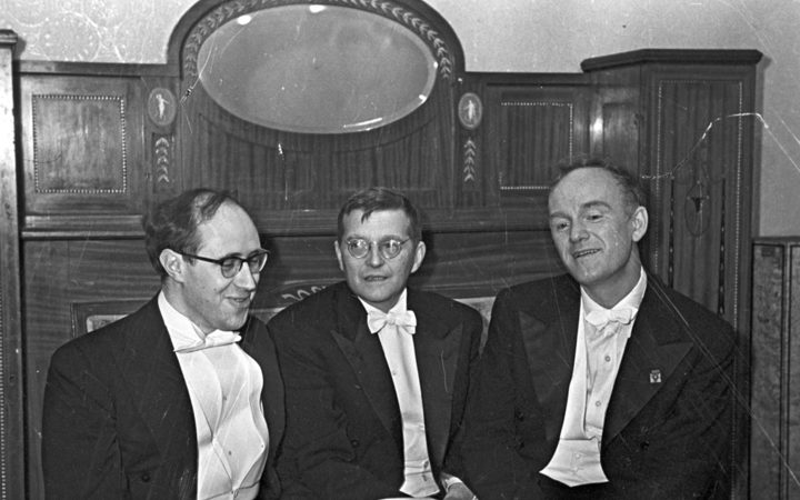 Rostropovich, Shostakovich and Richter