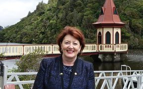 Conservation Minister is Maggie Barry at Zealandia.