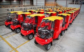 NZ Post Delivery Vehicles