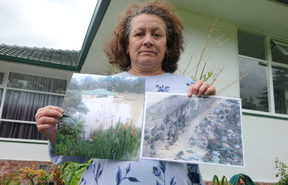 Kisa Coles has lived at the Putiki end of Anzac Parade with her husband for 13 years.