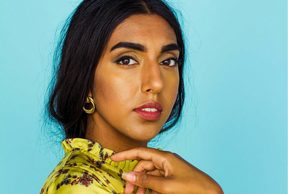 Canadian writer and artist Rupi Kaur.