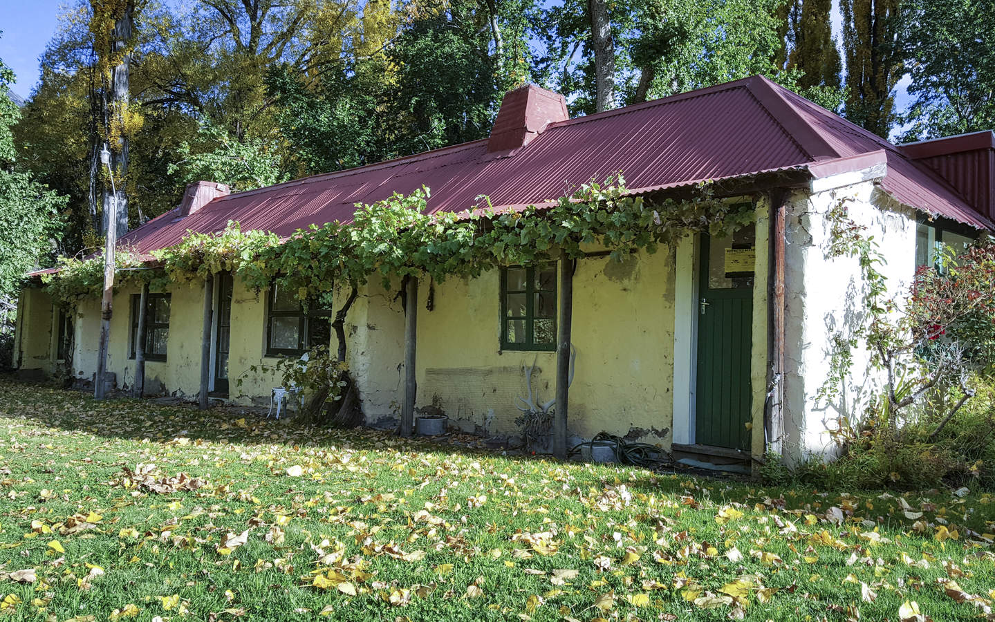 The historic cob cottage built in 1859 that is now unsafe to live in