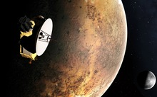 An artist's impression of New Horizons, which is expected to arrive at Pluto in July 2015.