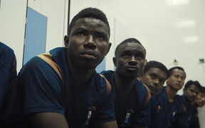 The Workers Cup goes inside Qatar's labour camps.