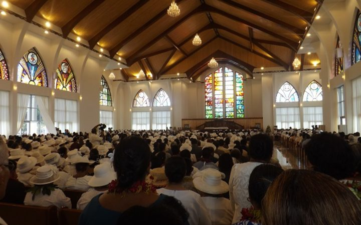 Samoa S Jubilee Church Finally Opens Rnz News