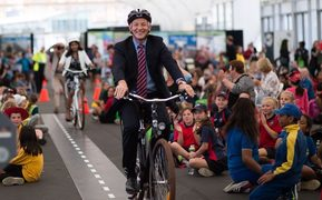 Phil Goff's economic plans for Auckland have suffered speed wobbles from day one.