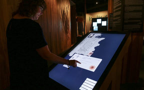 , a new permanent exhibition of three iconic constitutional documents that shape Aotearoa New Zealand. Treaty of Waitangi, Declaration of Independence and Women's Suffrage Petition.