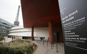 The exhibition at the  Musée du Quai Branly will run until October.