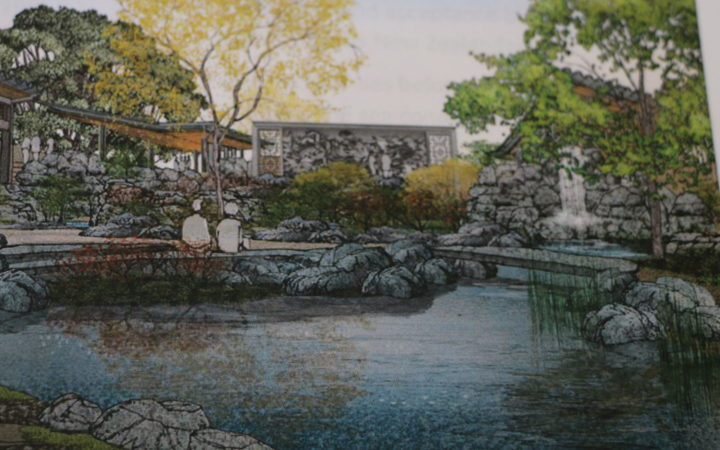 Background to the proposed Wellington Chinese Garden design.
