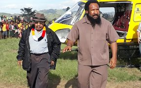 Don Pomb Polye on the PNG  election trail