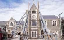 restoration of the historic Christchurch arts centre