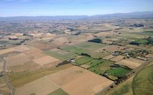Drought conditions in mid-Canterbury, January 2015