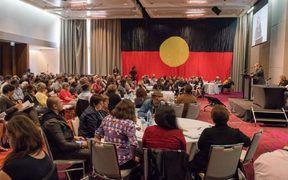 The final day of the National Constitutional Convention at Uluru.
