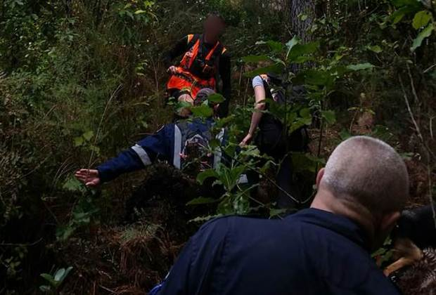 Graham Carr was found just before midday near the Te Marua Water Treatment Plant.