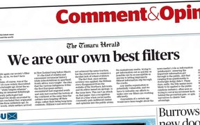 The Timaru Herald reflects on the scourge of misinformation from social media creeping into the news.