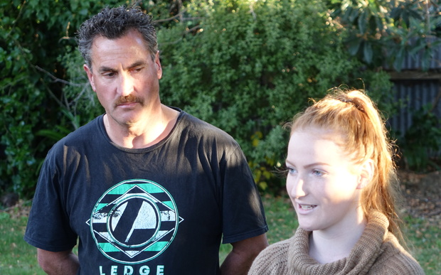 Anela Pritchard's father, Andrew, said he fully supported his daughter's right to free speech.