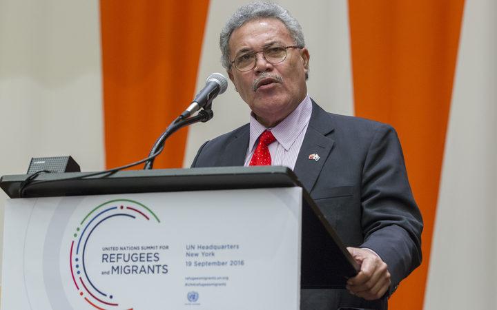 "Tuvalu PM says US move ""distressing and destructive"""