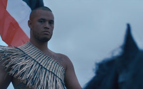 Stan Walker in the video for 'New Takeover'