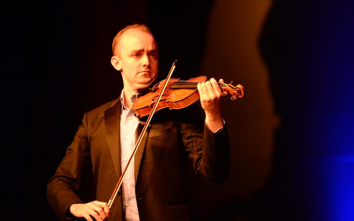Michael Hill International Violin Competition semi finalist Benjamin Baker