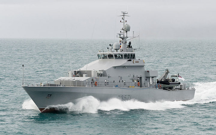 Joint naval team turns back fishing boats in Fiji