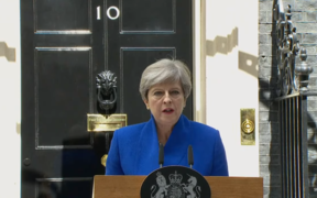 Theresa May announces she will form a government