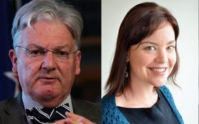 Peter Dunne and Julie Anne Genter.