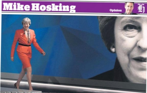 Mike Hosking was in no doubt about the UK election outcome.