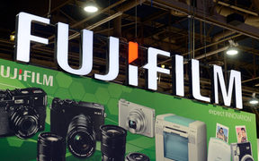 Fujifilm sign and electronic goods