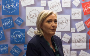 Marine Le Pen, leader of France's National Front