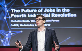 Head of the World Economic Forum's society and innovation department Nicholas Davis recently spoke at CeBIT Australia, the largest business technology event in the Asia Pacific