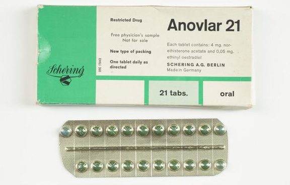 An image of Anovlar 21, the first contraceptive pill available for prescription in New Zealand.