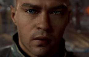 A still from the trailer of Detroit: Become Human, a PS4 game
