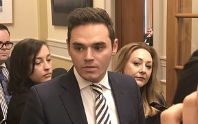 Clutha-Southland MP Todd Barclay at Parliament on Tuesday 20 June.