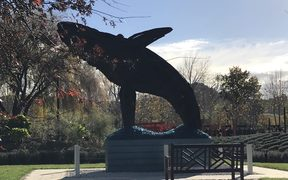 Humpback Whale at Sculptureum