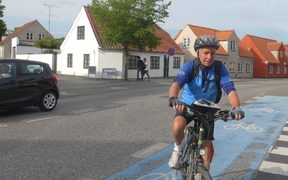Ralph Sims: Cycling in Denmark