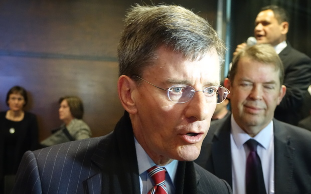 Treaty Negotiations Minister Chris Finlayson apologised to Taranaki for historical wrongs at the hands of the Crown.