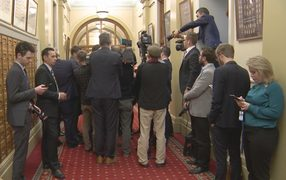 PM Bill English was a wanted man in the corridors of power last Tuesday.