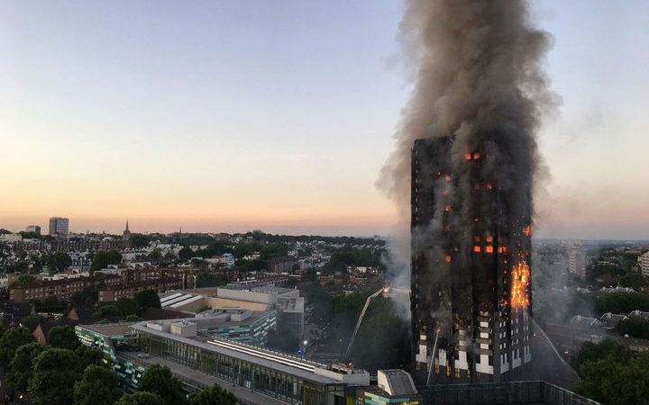 Public inquiry into Grenfell Tower fire formally opened