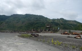 Panguna mine site