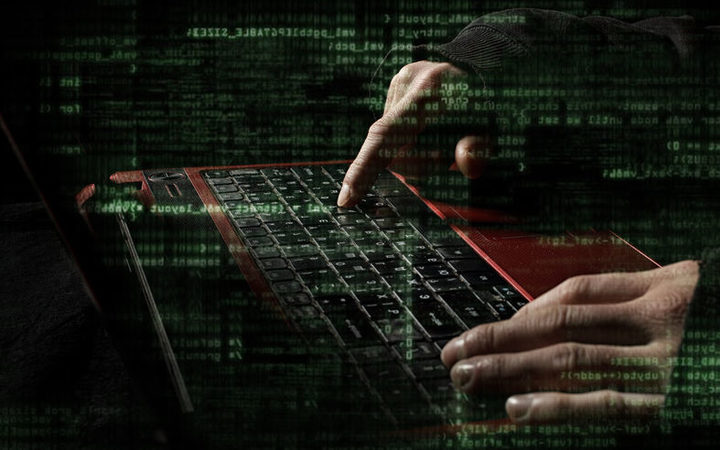 Keyboard, computer, cyber attack