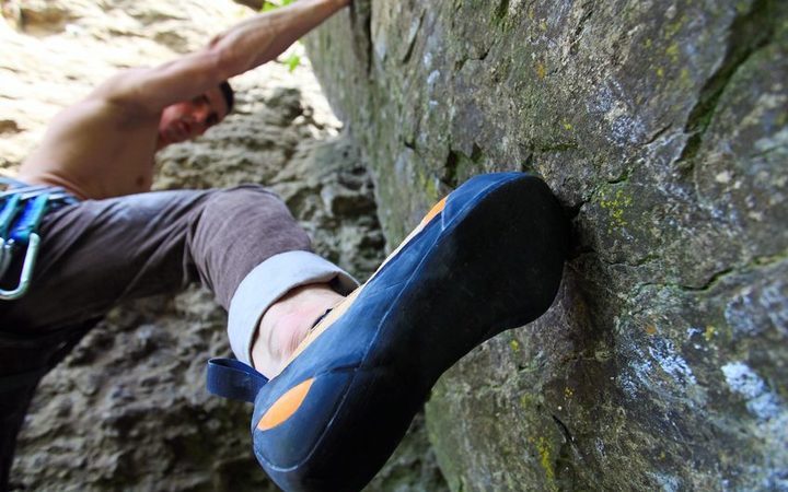 Outdoor rock climbing generic